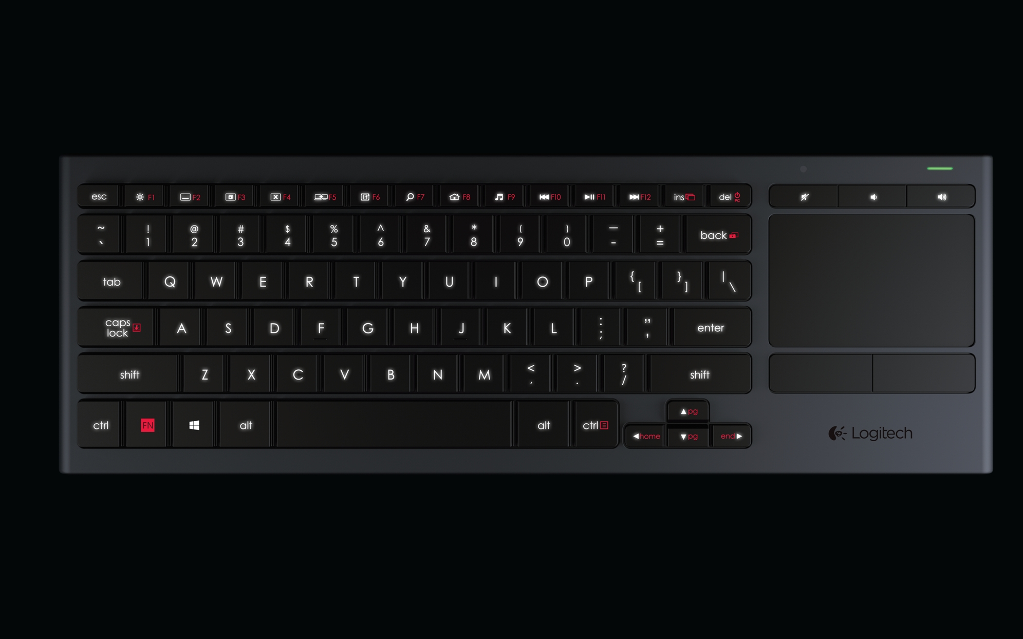 The Logitech Illuminated Living Room Keyboard K830 Is Expected To Be Available In Europe April 2014 For A Suggested Retail Price Of EUR9999