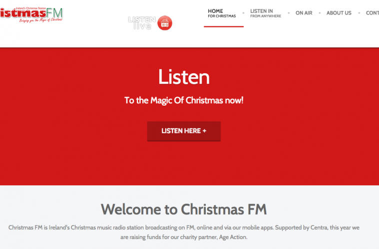 christmas fm returns with support from bai