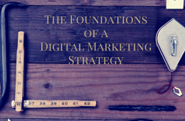 The Foundations of a Digital Marketing Strategy