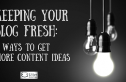 5 ways to get more content ideas