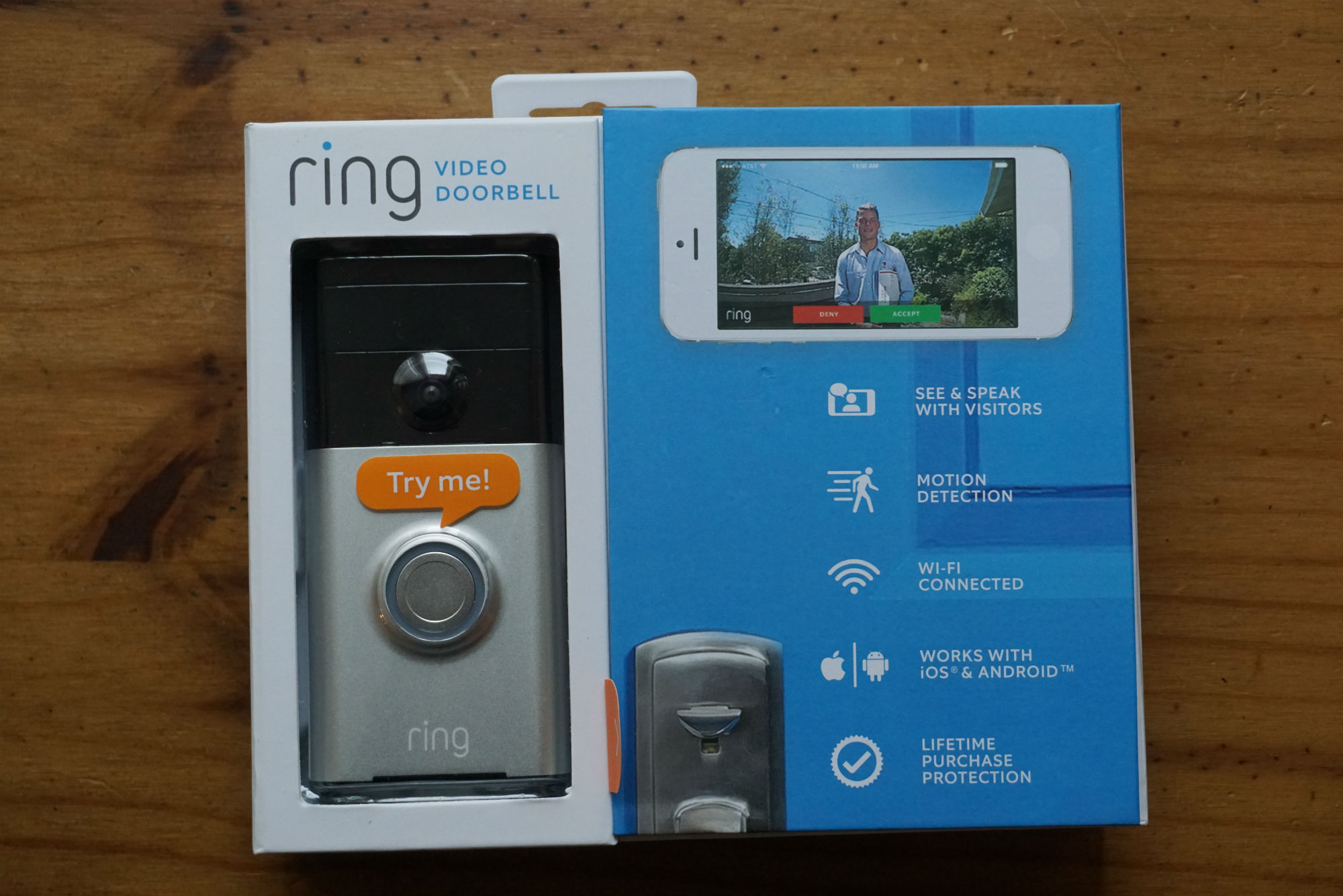 ring video doorbell review irish tech news. Black Bedroom Furniture Sets. Home Design Ideas