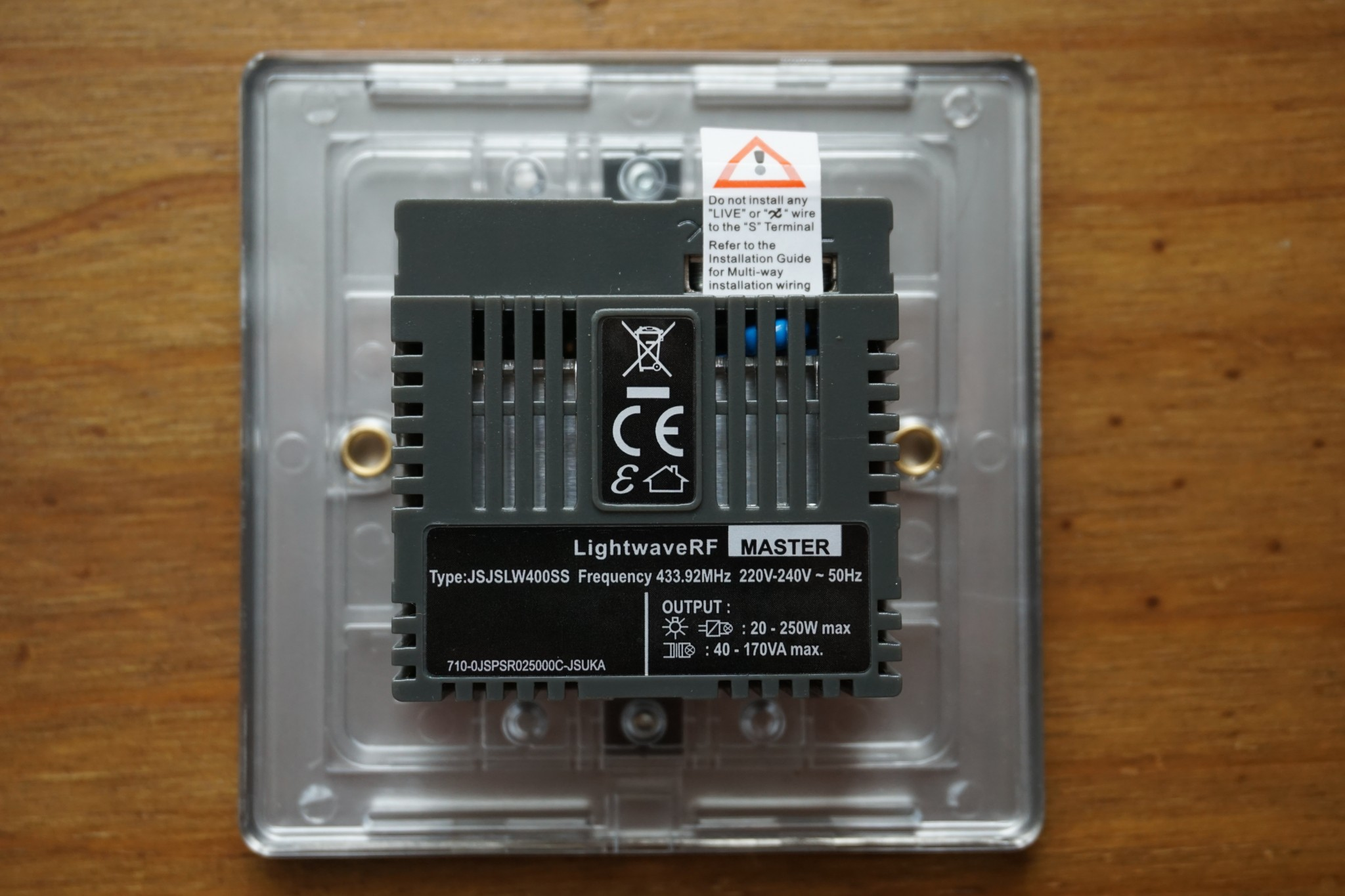 Lightwaverf Home Automation Kit Reviewed Irish Tech News Fitting Dimmer Switch To Old Electrical Wiringdimmerinstructionsjpg