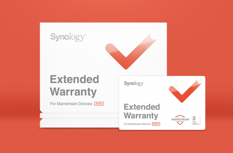Synology release first warranty extension package - Irish