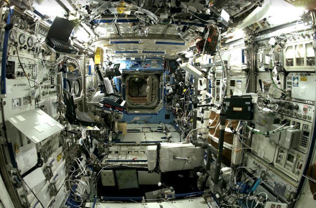 Google Street View enters International Space Station