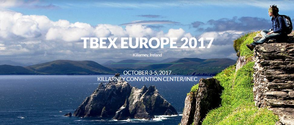 TBEX Europe 2017 to take place on Oct 3 - 5 in Killarney