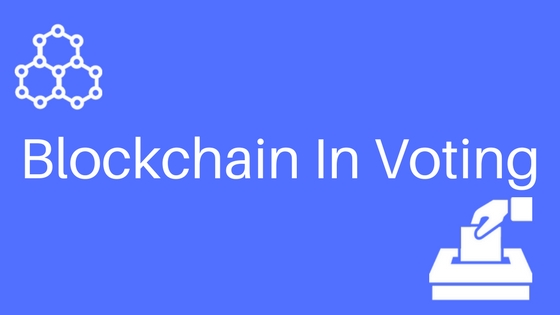 Image result for blockchain in voting