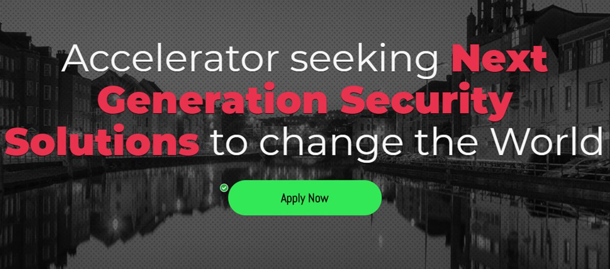 International Security Accelerator starts, January 2018, Cork