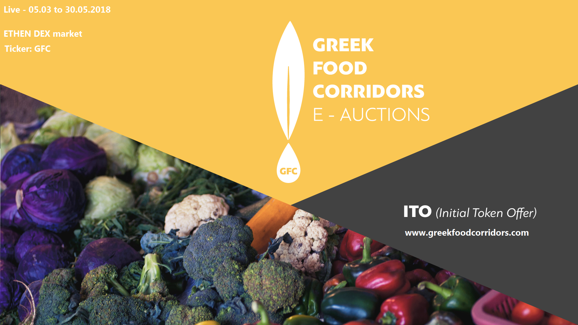 Greek Food Corridors and its Mission E-Auctioning the Olive Oil and