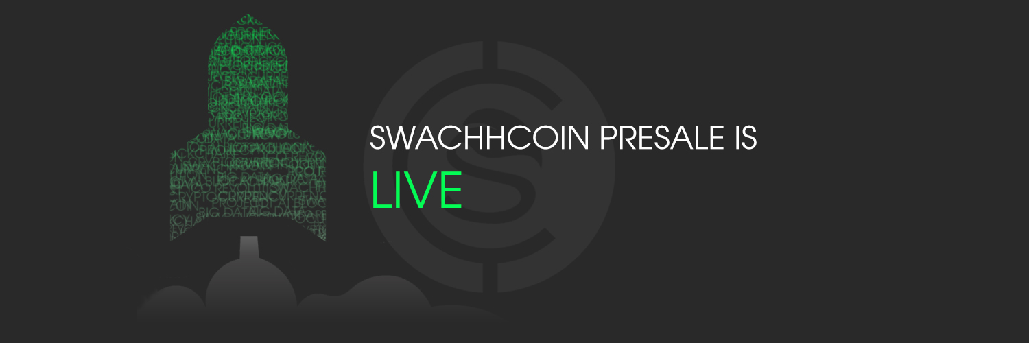 Indian Blockchain Project Swachhcoin's Public Pre-sale is now live