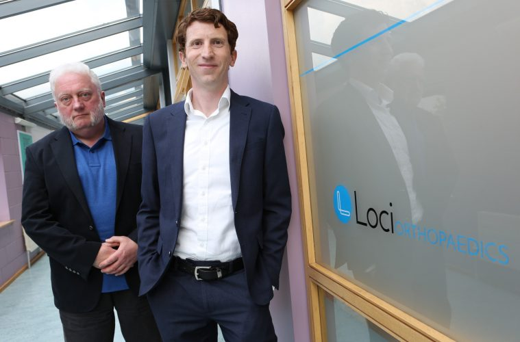 NUI Galway Spin-Out Loci Orthopaedics Raises €2 75 Million in