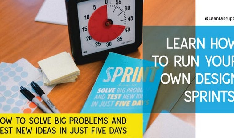 Learn How to Run Your Own Design Sprints at Dublin Workshop - Irish
