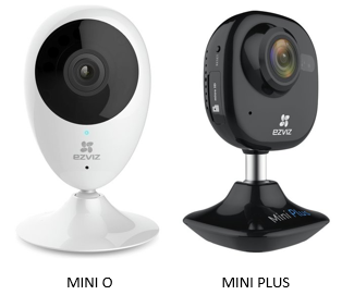 EZVIZ introduces its Mini Plus and Mini O HD smart security