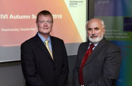Anam Chief Operations Officer Alan Darcy (Left) with Brian Donellan, VP and Head of International Affairs in Maynooth University (Right) (Photo: Maynooth University)