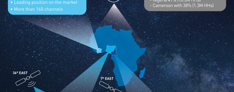 Comprehensive study of satellite television reception places Eutelsat as market leader across Nigeria, Cameroon and Ivory Coast