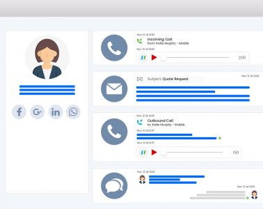 VoIP Phone System NUACOM CRM Integration