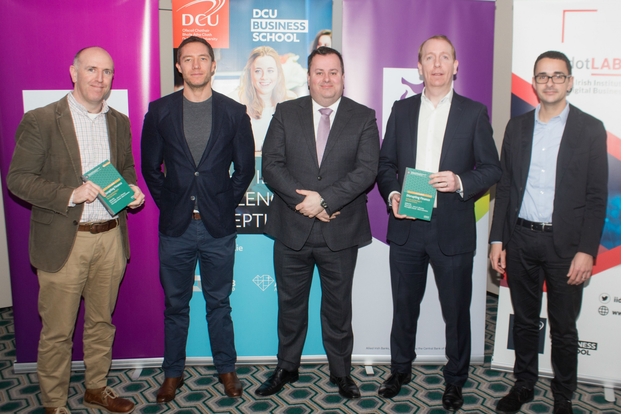 New open access book on how technology is disrupting financial services launched by DCU