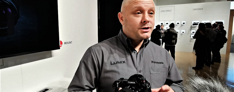 LUMIX S1 & S1R explained at Panasonic Convention 2019