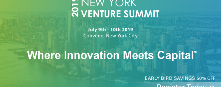 New York Venture Summit July 9th -10th