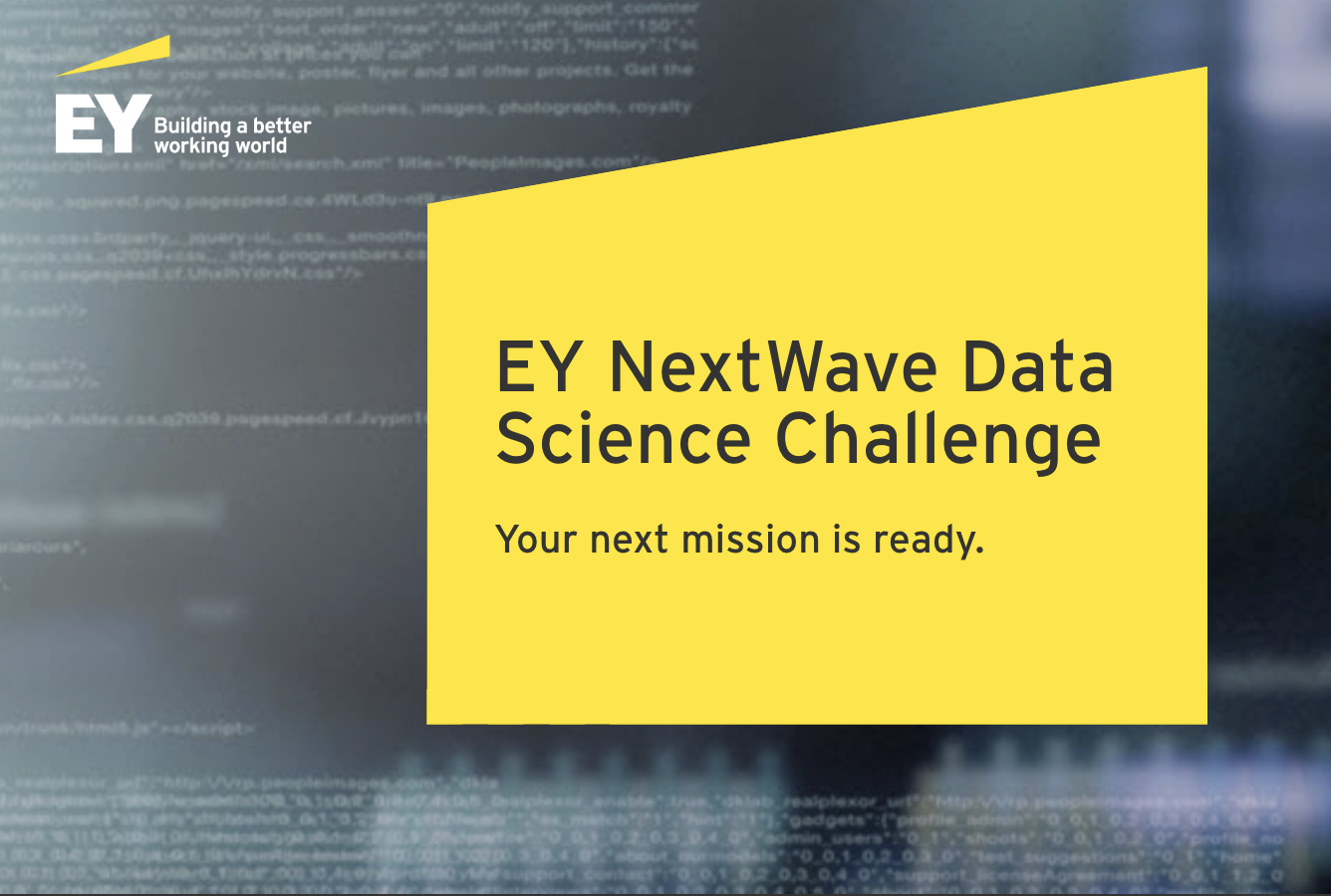 EY is on the hunt for the next generation of data science