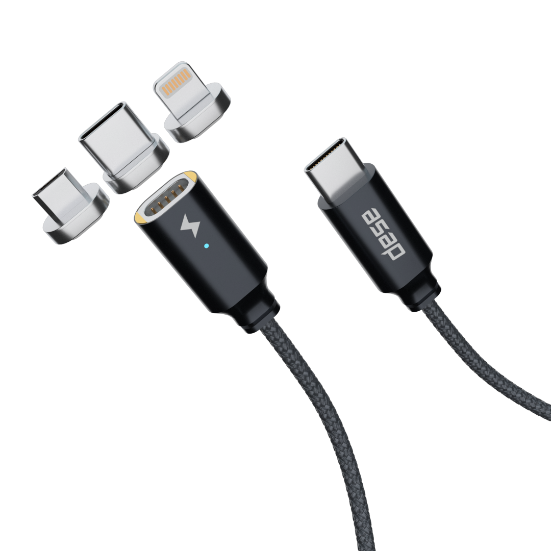 UNO: Cross-Device USB Type-C magnetic cable now funded on Kickstarter