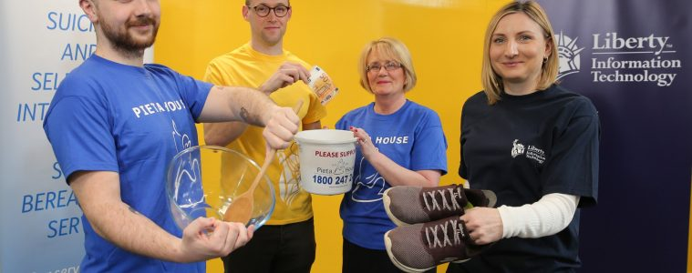 Liberty IT Dublin Announces Charity Partnership with Pieta House