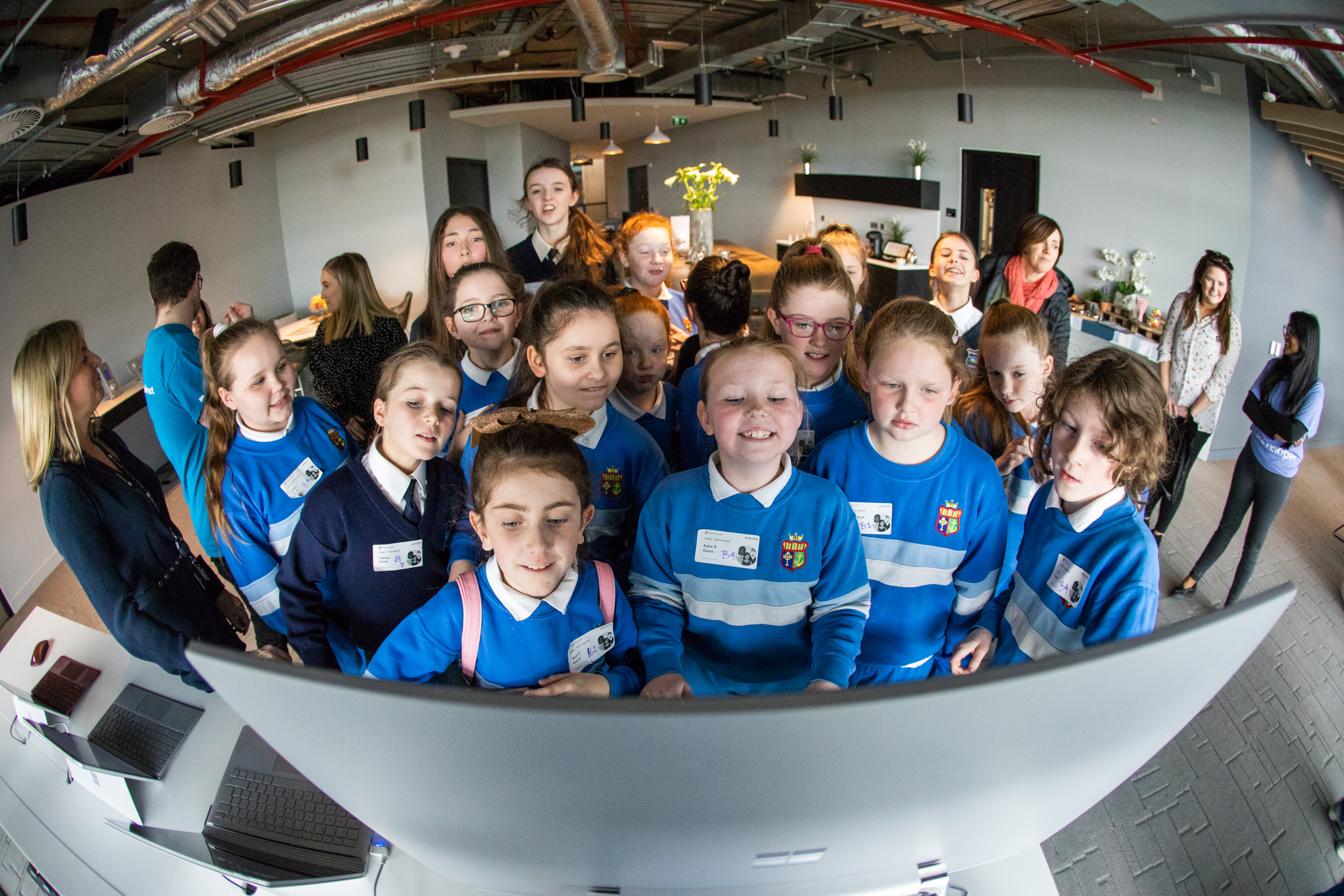Microsoft celebrates Girls in ICT Day with special DreamSpace event to inspire young girls