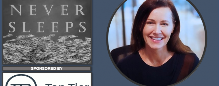 Money Never Sleeps: Interview with Andrea Reynolds from Swoop on ep 41