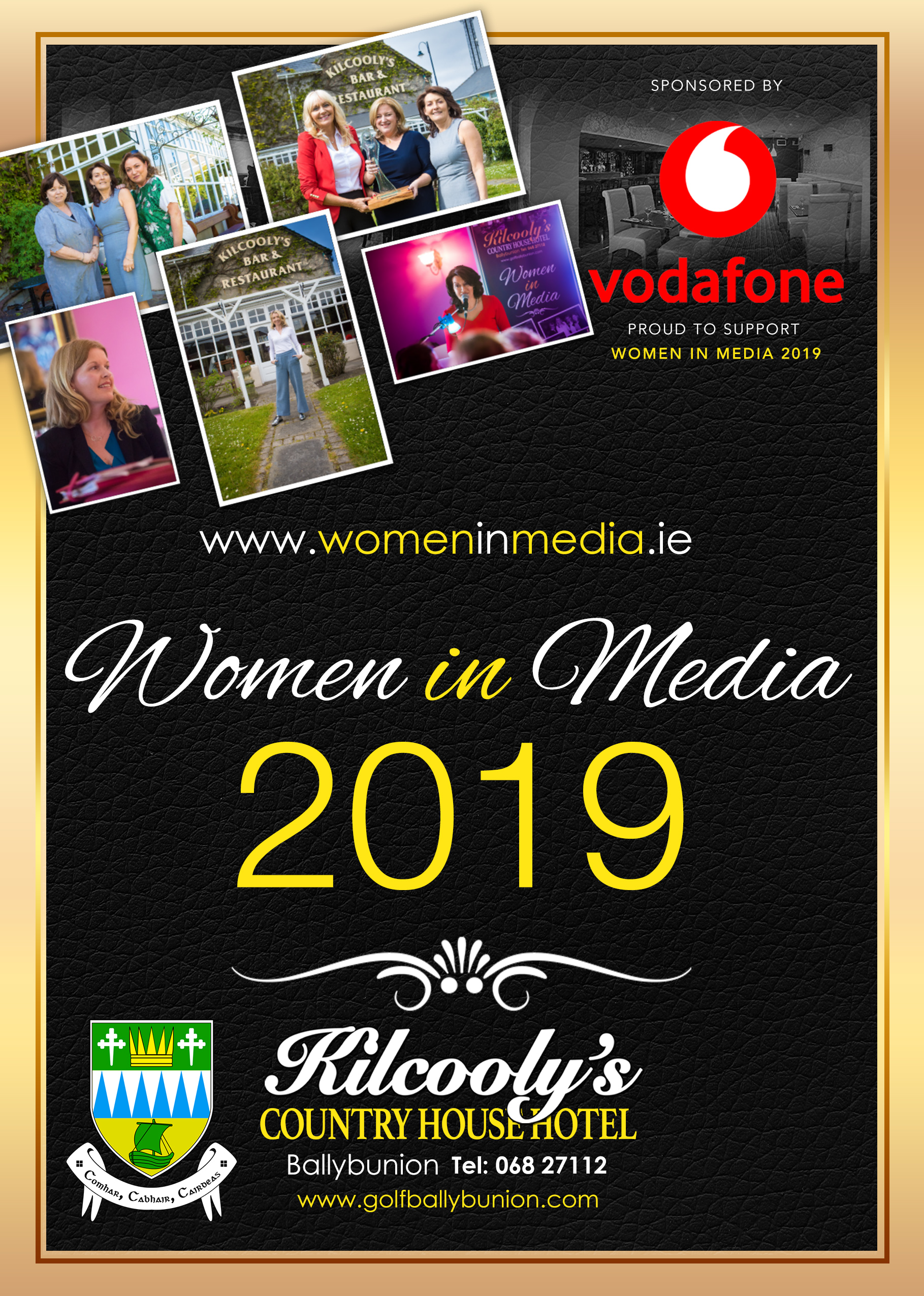 Annual Women in Media Conference takes place 26th – 28th April, Ballybunion.