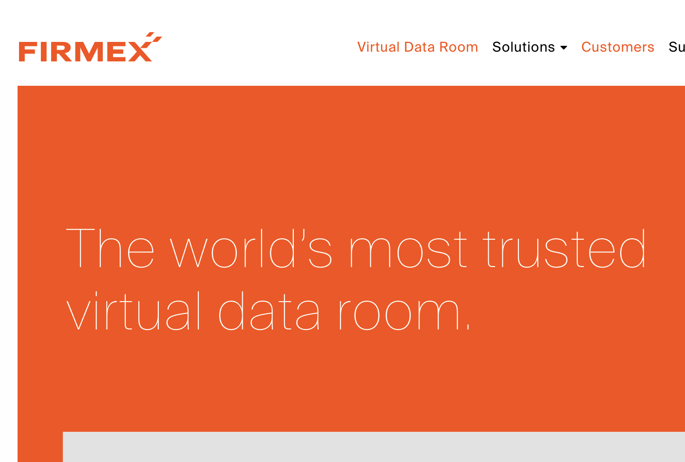 Virtual Data Room Technology Company Awarded Prestigious Customer
