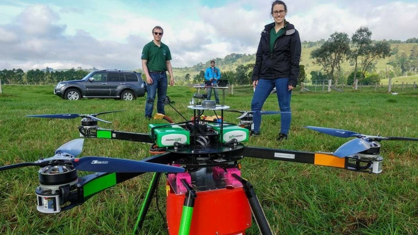 Tree-Planting Drone Can Plant 100,000 Trees in One Day